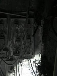 Cháy khu kỹ thuật tầng 9 tòa B CT5 Xa La ngày 20/09