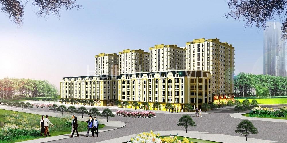 Phối cảnh dự án chung cư kinh bắc plaza Bắc Ninh