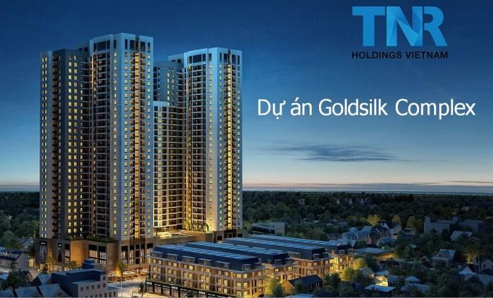 Phối cảnh chung cư goldsilk complex vạn phúc Hà Đông