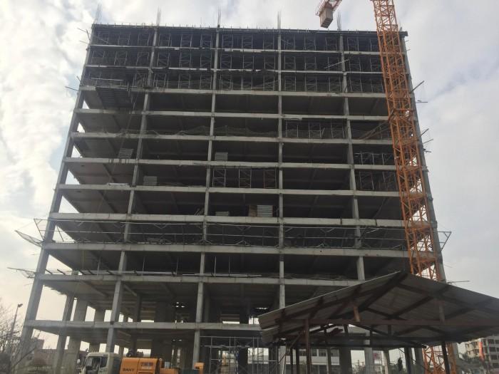 Tiến độ xây dựng toà chung cư kinh bắc plaza bắc ninh