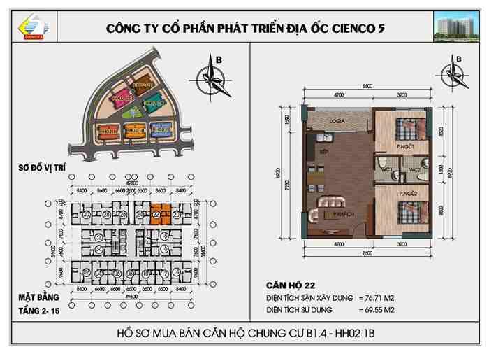 thiết kế căn hộ 20 22 hh02 1b thanh hà cienco 5