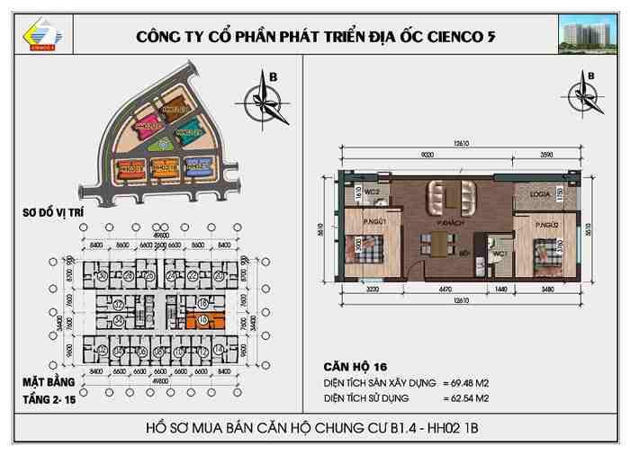 Thiết kế căn hộ 16 - 18