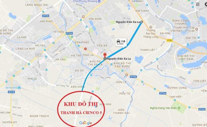 Tuyến đường Nguyễn Xiển Xa La Chung Cư Thanh Hà