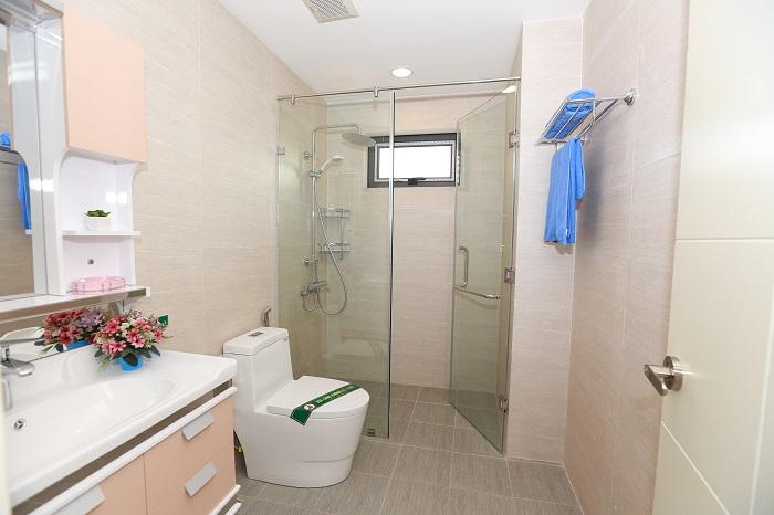 Phòng wc căn hộ chung cư goldsilk hà đông với đầy đủ công năng sử dụng