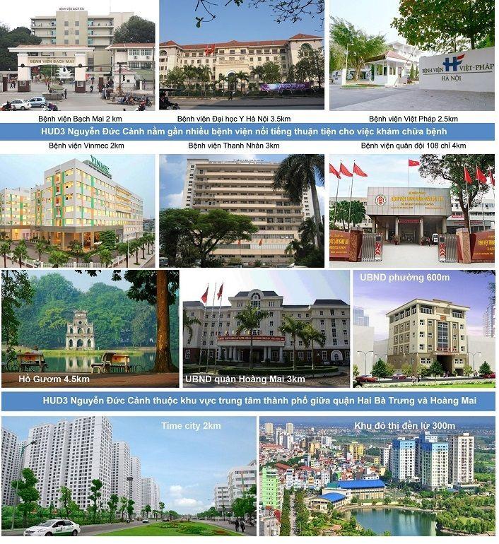 Tiện ích dành cho cư dân chung cư Hud3 Nguyễn Đức Cảnh đồng bộ có sẵn