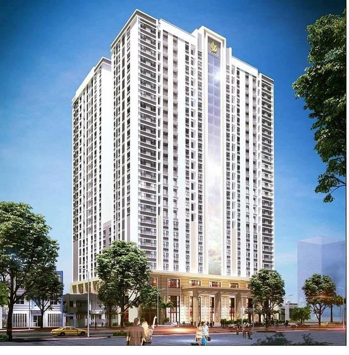 Ảnh phối cảnh dự án chung cư Phoenix Tower Bắc Ninh căn hộ cao cấp