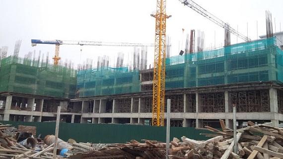 Ảnh chụp tiến độ thi công chung cư A10 Nam Trung Yên Cầu Giấy