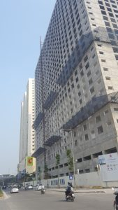 Tòa CT7 đang trong giai đoạn xây dựng