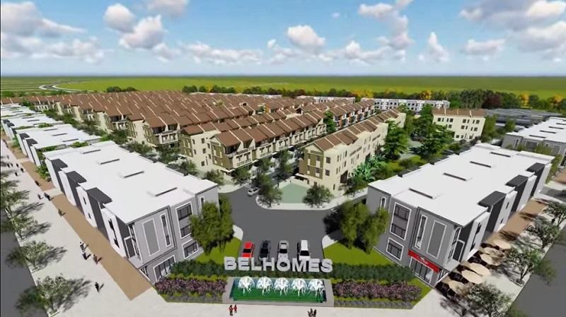 Khu đô thị Sing-Viet Belhomes được thiết kế đồng điệu theo chuẩn mực Singapore