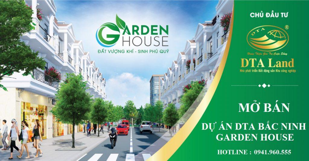 Phối cảnh dự án Garden House Bắc Ninh - Vsip Từ Sơn
