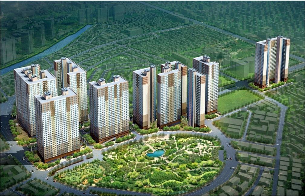 Siêu dự án chung cư Booyoung Vina