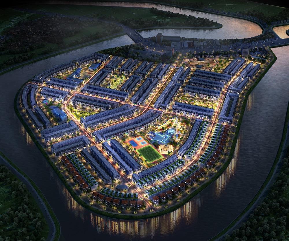 Phối cảnh tổng thể dự án TNR STARS Diễn Châu Nghệ An