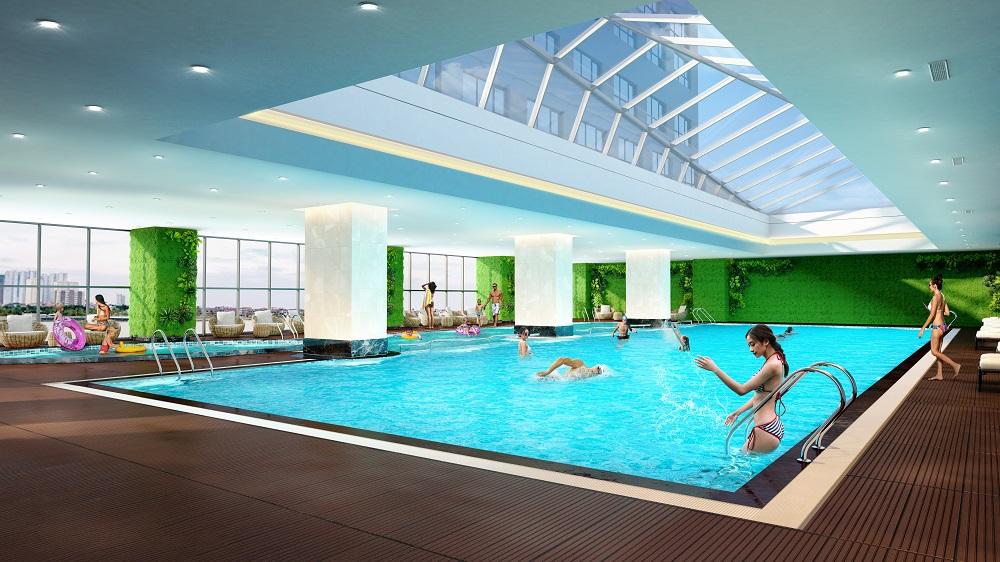Bể bơi 4 mùa dự án epic's home11