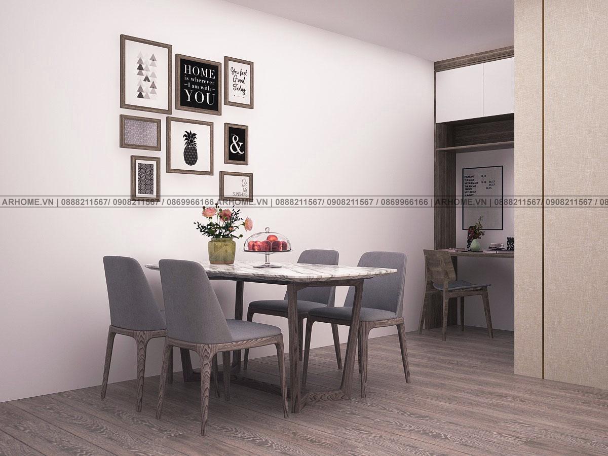 Thiết kế nội thất chung cư ariyana lakesie